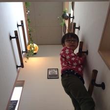 階段手すりリメイク