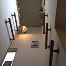 吹き抜け階段リフォーム施工例