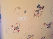 汚れ防止機能のない壁紙