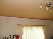 天井のアクセントウォール施工例