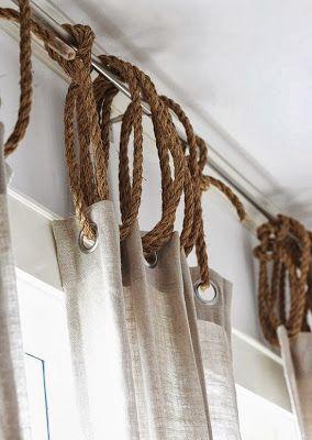 カーテンの吊るし方アイデア