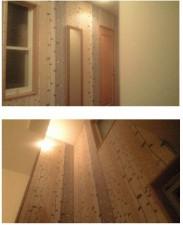 廊下、階段のクロス張替え施工前